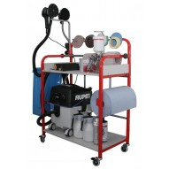 T4W Universal mobile painting trolley rack