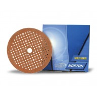 NORTON Sanding Discs MultiAir Norgrip 150mm / P360