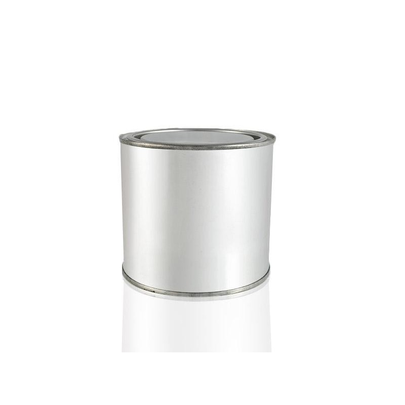 T4W Empty metal can with lid / 0.5L