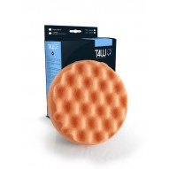 T4W Polishing sponge waffle 150×25mm velcro orange