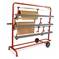T4W 3P Film- paper roll dispenser rack / 5 rolls