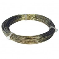 Windshield Removal Braided Wire GOLD / 22.5m