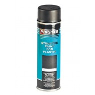 MASTER Structural Paint black Spray / 500ml