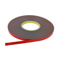 3M PT1100 Acrylic Badge Tape Doublesided 20m / 6mm