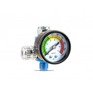 T4W Air Pressure Regulator for Spray Guns / Blue