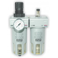 GAV Air filter + reducer+ lubricator 1/2 / FRL200