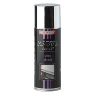 Troton IT Acrylic Paint Silver Chrome Spray 400ml