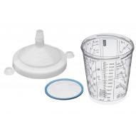 SATA RPS disposable cup system 125µm / 600ml