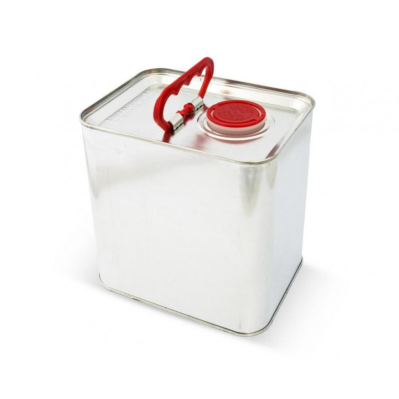 T4W Empty metal Canister with plug / 2.5L