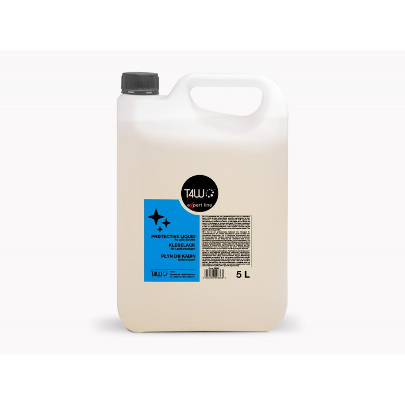 T4W eXpert line Protective Liquid for Paint Booths