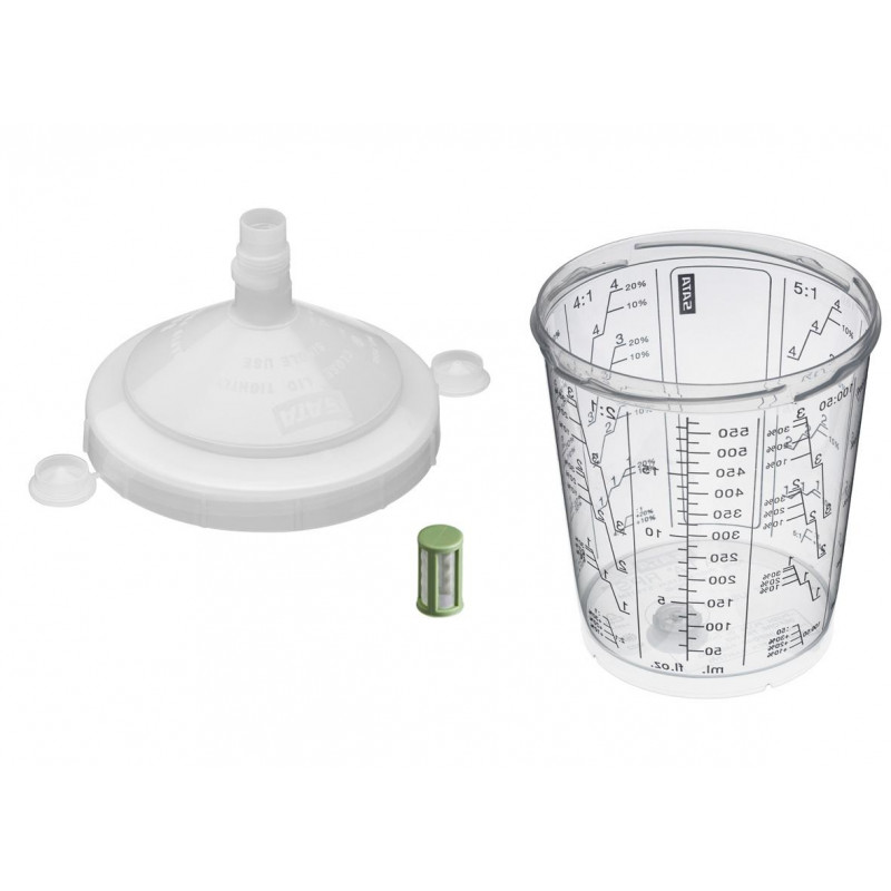 SATA RPS disposable cup system 200µm / 600ml
