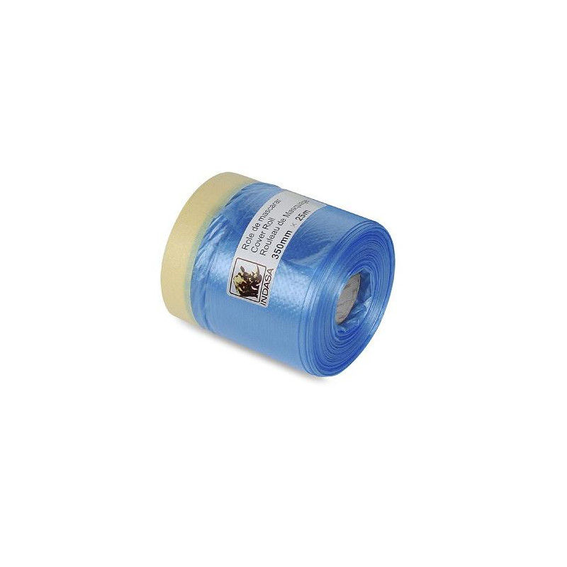 INDASA COVER ROLLS Pre Taped Masking Film / 350mm