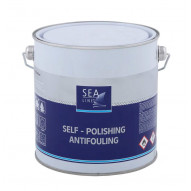 SEA LINE Antifouling Paint ALU+ WHITE / 2.5L