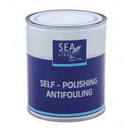SEA LINE Antifouling Paint ALU+ WHITE / 0.75L