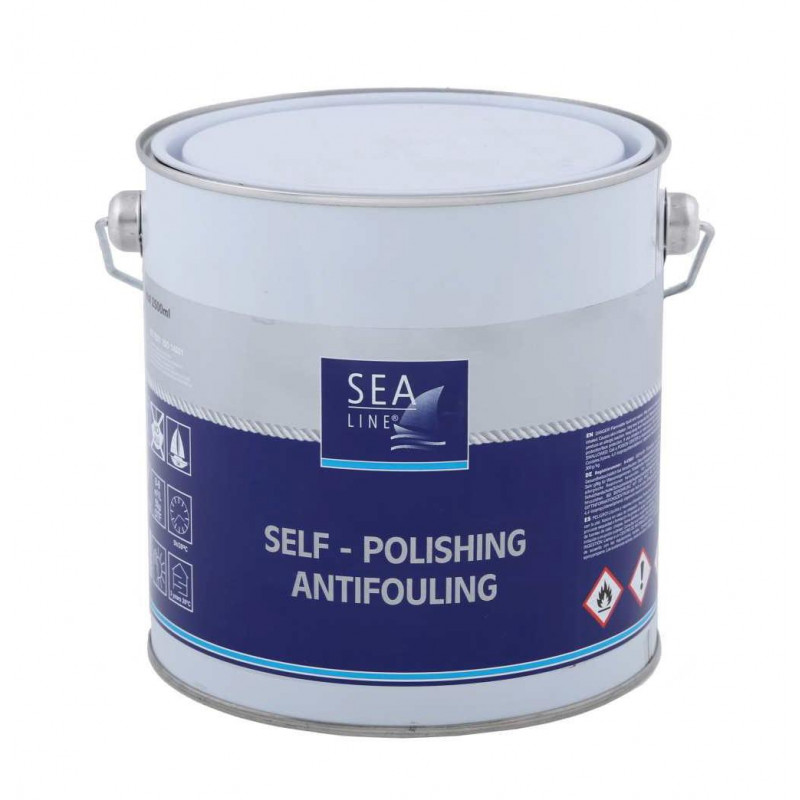 SEA LINE Antifouling Paint RED / 2.5L