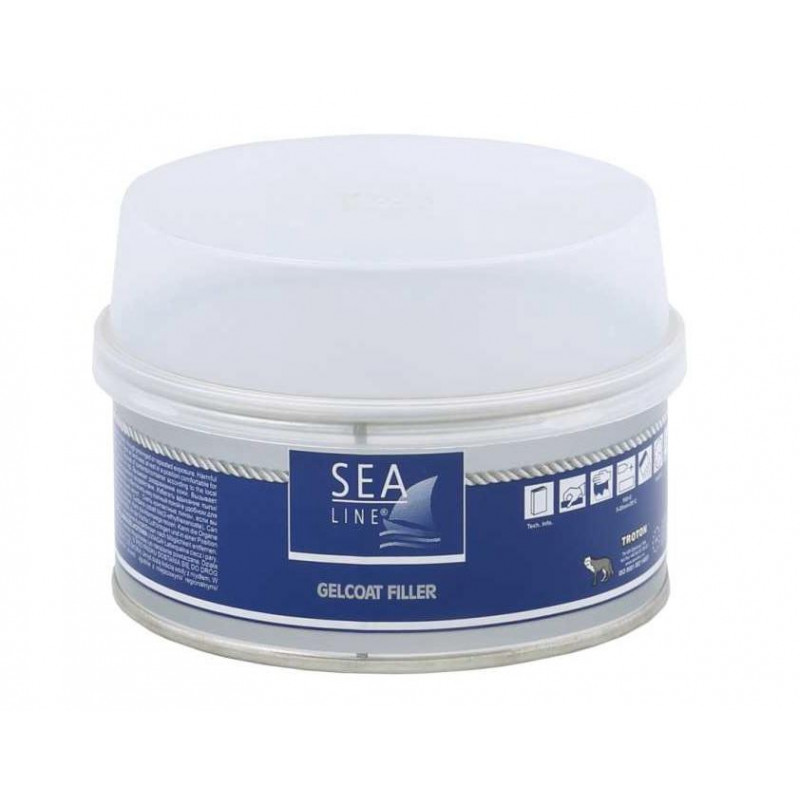 SEA LINE Polyester Gelcoat Filler Putty / 0.2kg
