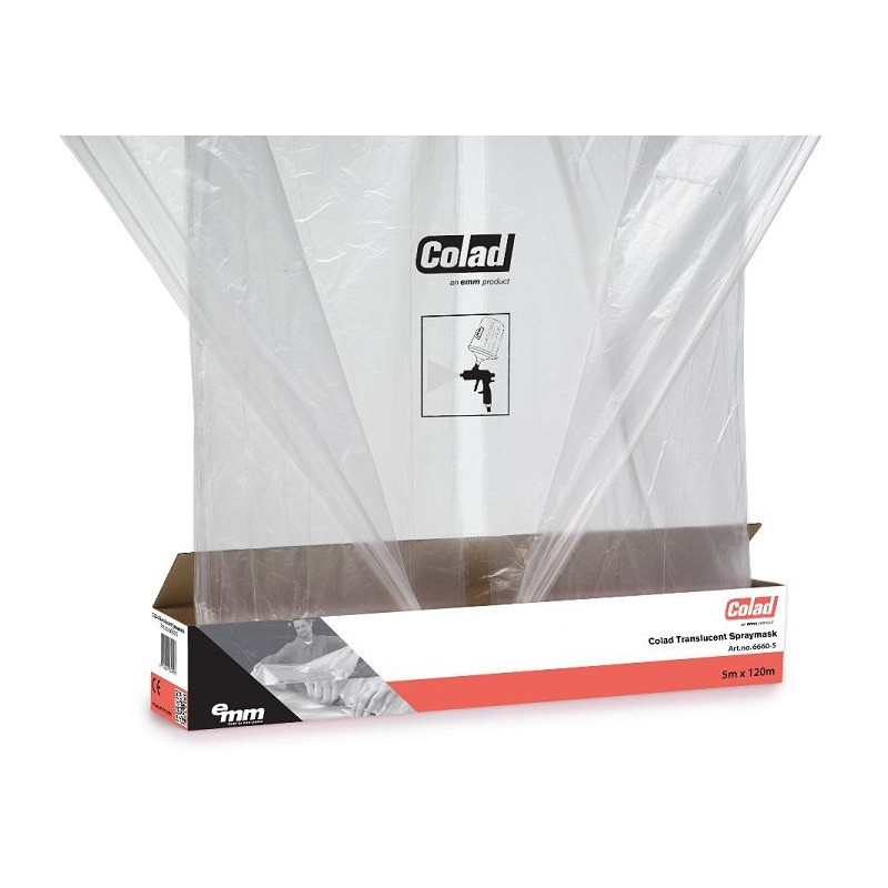COLAD Translucent Spraymask Extra Wide 5x100m