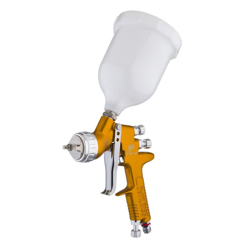 DEVILBISS Spray Gun GTi Pro T110 1.3/1.4 GOLD