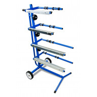 T4W Mobile vertical masking stand / 4 rolls