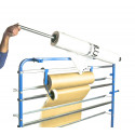 T4W 6P+ Film- paper roll dispenser rack / 5 rolls